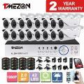 Tmezon 16Ch Ahd 1080 P Dvr 16 Pcs Câmera 2.0Mp 1080 P 2.8-12Mm Lente Zoom Cctv Home Security Sistema De Vigilância Visão Nocturna Do Ir Kit